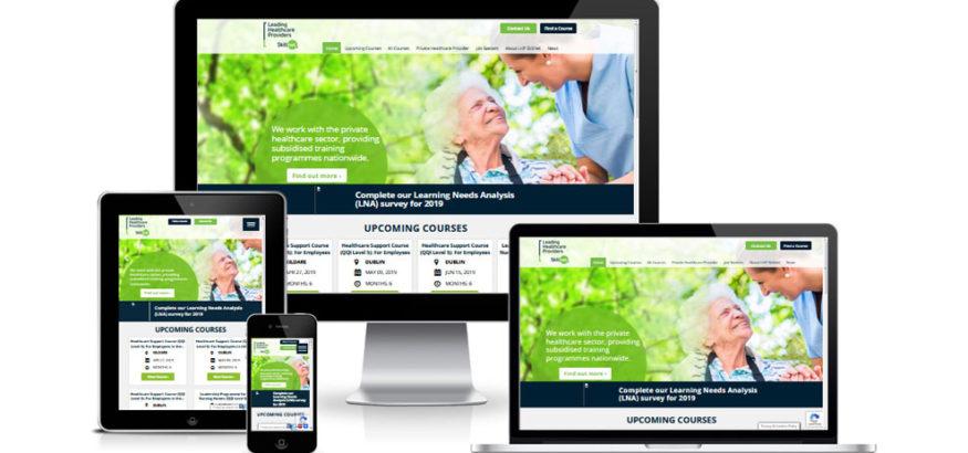 LHP Skillnet Website and Web App